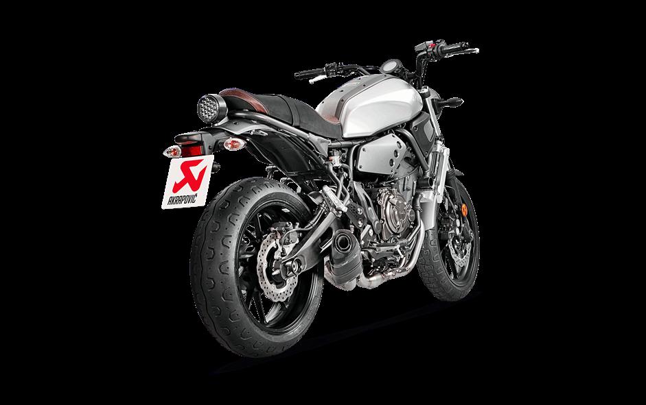 Yamaha Xsr 700 2016 16 Scarico Completo Akrapovic Carbonio S Y7r2 Afc