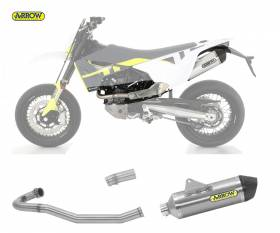 Scarico Completo Kat Arrow Race-tech Titanio Husqvarna 701 Supermoto 2021