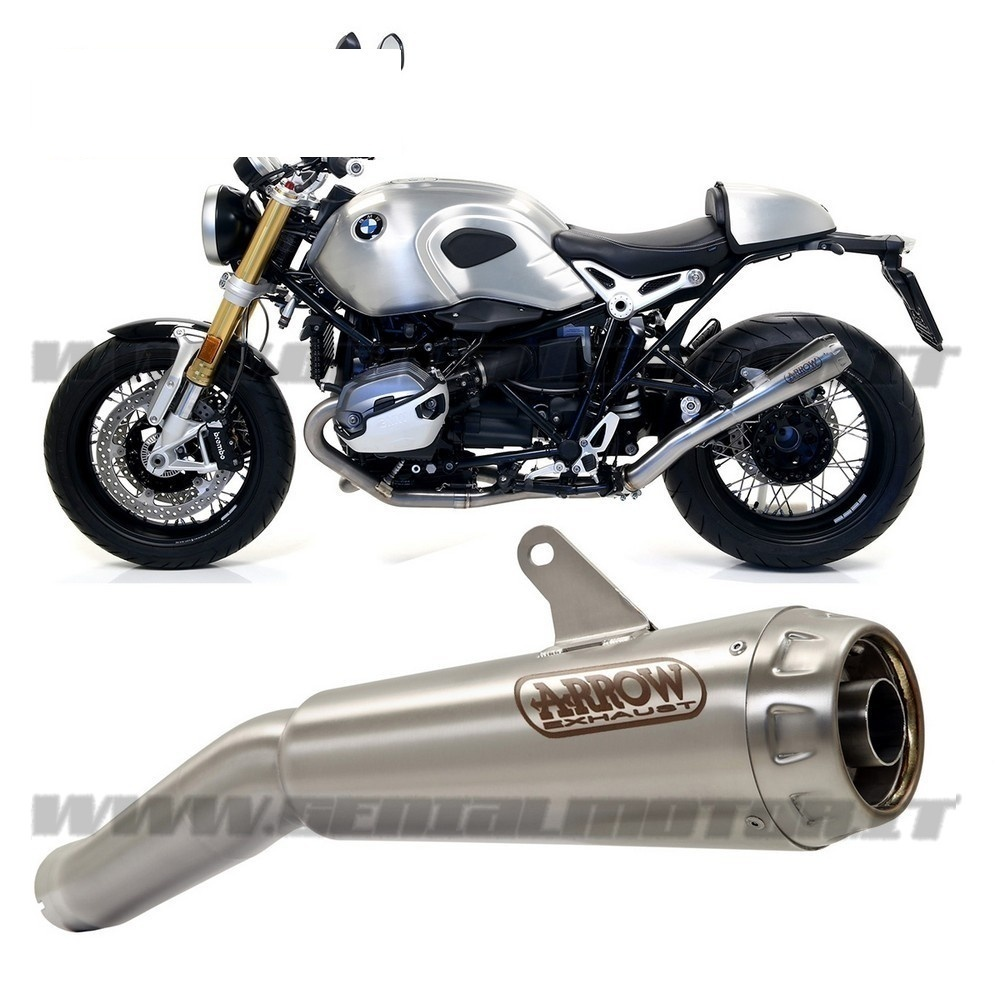 exhaust link pipe arrow pro race nichrom bmw r nine t. Black Bedroom Furniture Sets. Home Design Ideas