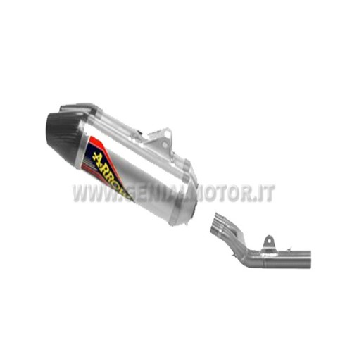 HONDA CRF 250 R 2014 EXHAUST + RACING LINK PIPE ARROW 75121TAK + 72111PD