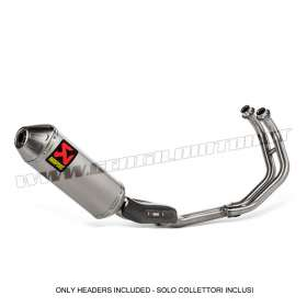 Inox Optional Headers Not Approved Akrapovic for Yamaha Exhausts Tenere 700 2019