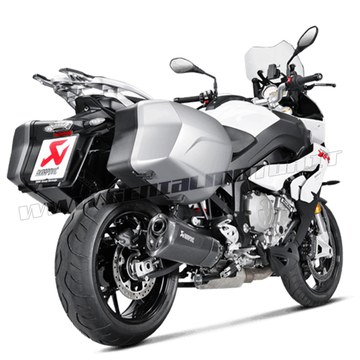 Exhaust Titanium Approved Muffler Akrapovic for Bmw S1000XR 2015 > 2019