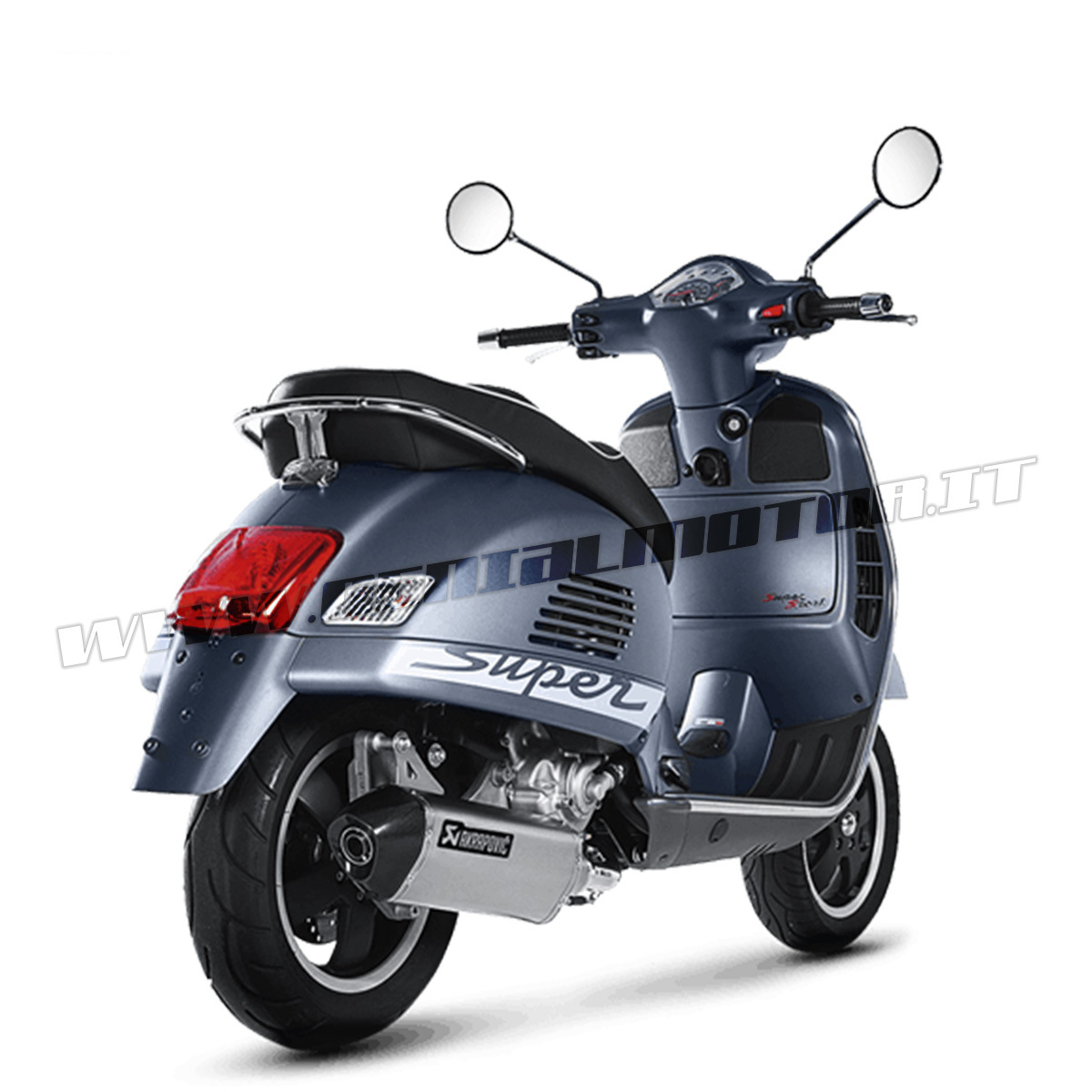 S Ve3so6 Hrss Exhaust Inox Muffler Akrapovic S Ve3so6 Hrss Piaggio Vespa Gts 300 2008 2015