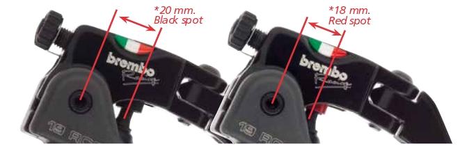 Pompa Brembo Radiale 19 Rcs Per Moto A Doppio Disco Interasse 19x18-20