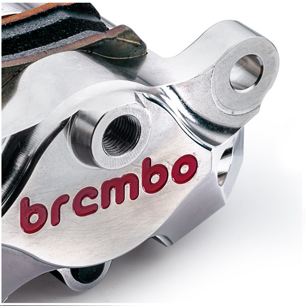 120A44140 Calipers Rear Break Brembo Racing P2 34 Cnc SS With Pad Ducati Aprilia Nickel