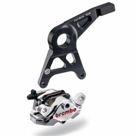 Pinza Posteriore Freno Brembo Racing P2 34 CNC SSport past staffa Suzuki Nickel2