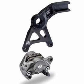 Calipers Rear Break Brembo Racing P2 34 Sport Fused With Pad Bracket Kawasaki