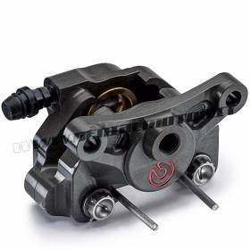 Hinterbremsezange Brembo Racing P4-24 Achsabstand 64 mm Ohne Bremsbelag