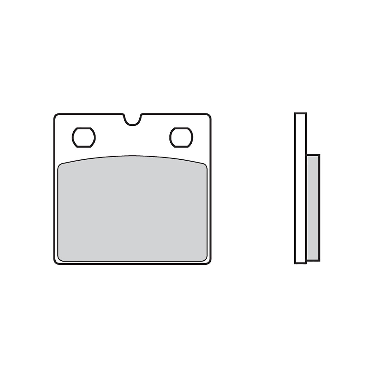 Vorderen Brembo 07 Bremsbelage fur Bmw K 75 ABS (SPECIAL BREMSSATTEL) 1991 1993