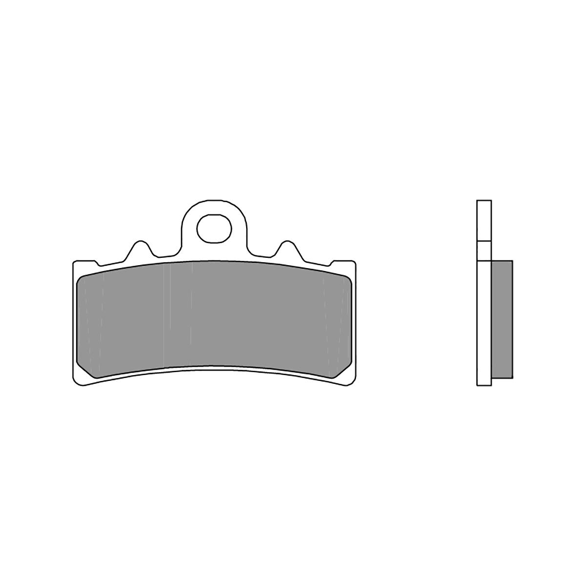 07GR18SC Pastillas Brembo Freno Delantero 07GR18SC para Ktm RC R 390 2018