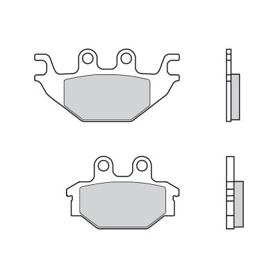Plaquettes Brembo Frein Anterieures SD pour Adly CROSS X ROAD 300 2007 > 2009