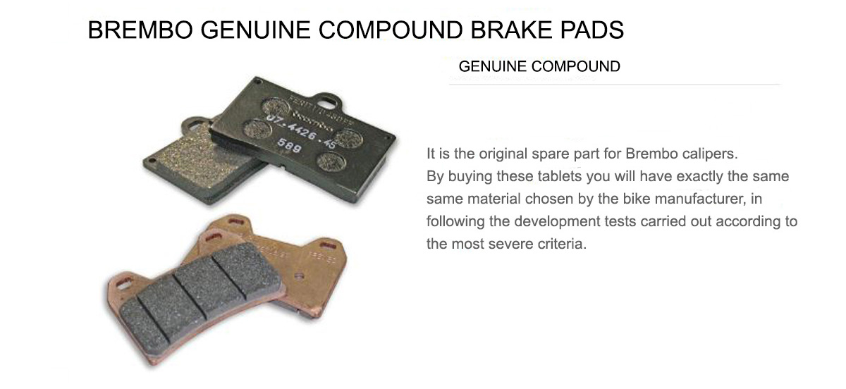 Rear Brembo 58 Brake Pads for Bmw F 700 GS 700 2013 > 2015