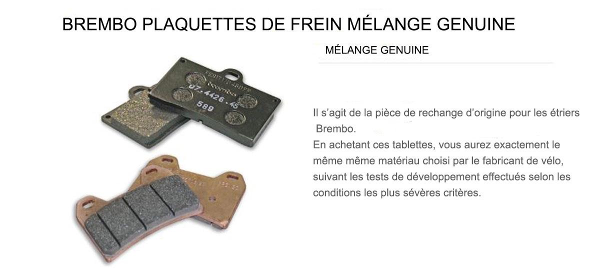 Plaquettes Brembo Frein Anterieures 15 pour Bmw R 75/7 750 1976 > 1977