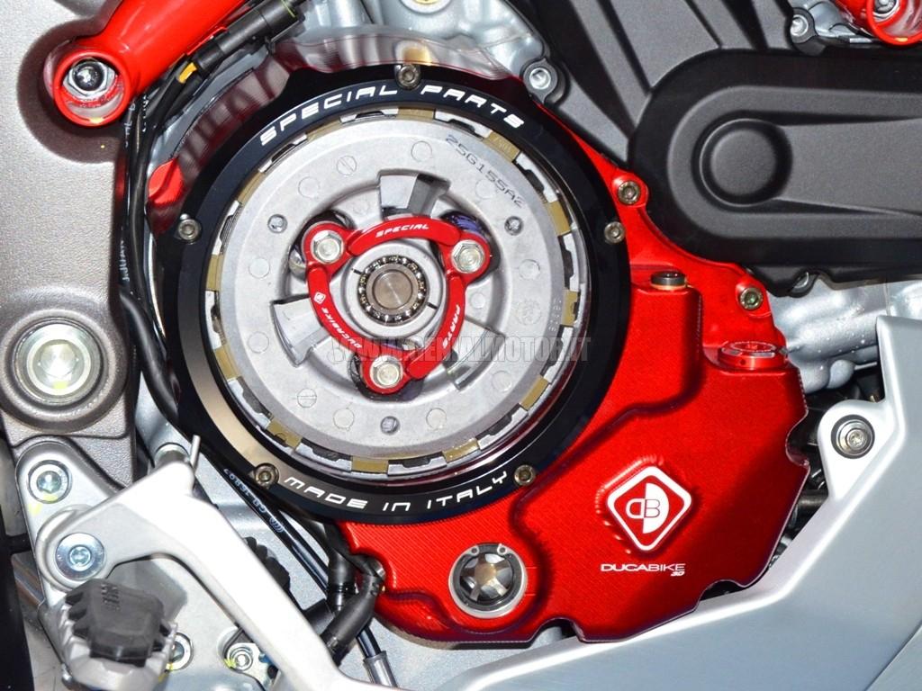 Ducabike ccdv03ad carter frizione bagno olio trasparente - Dsg 7 marce bagno d olio ...