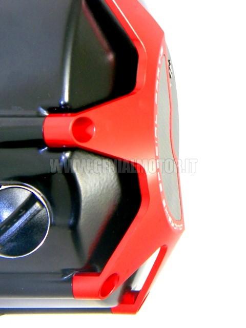 Ducabike cco03a cover frizione bagno olio rosso - Frizione a bagno d olio ...