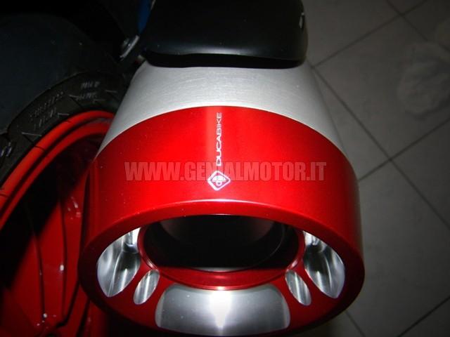 FSD01A Ducabike Fsd01a Fondello Scarico Diavel Rosso