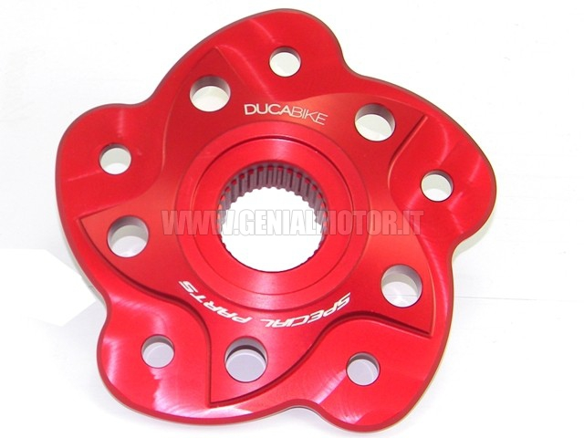 Ducabike Pc5f03a Sprocket Carrier Red