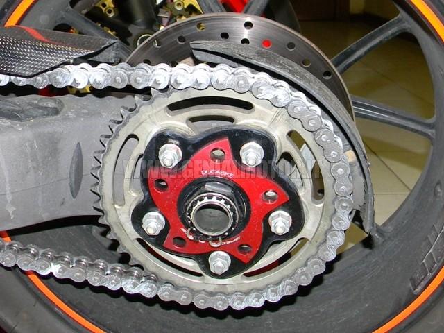 Ducabike Pc5f04a Porta Corona Rosso