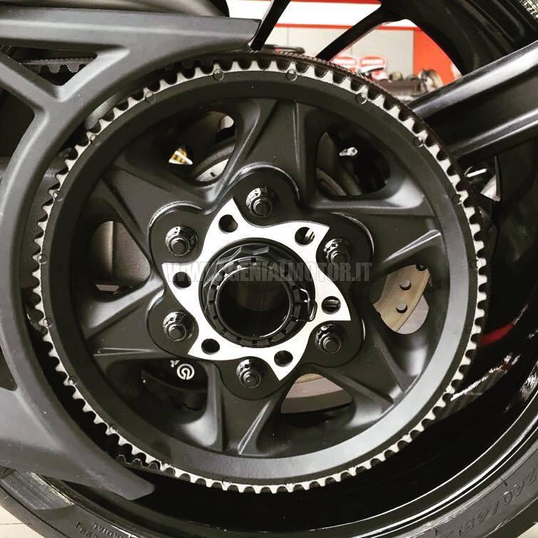 PC6F03E Ducabike Pc6f03e Porta Corona Silver