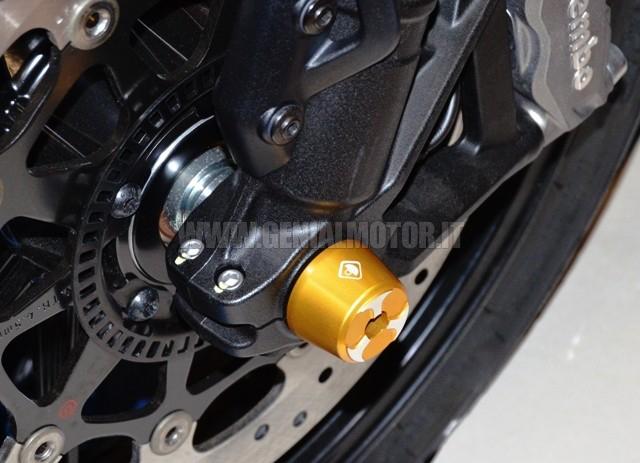 Ducabike Pfal02b Protezione Forcella Anteriore Oro