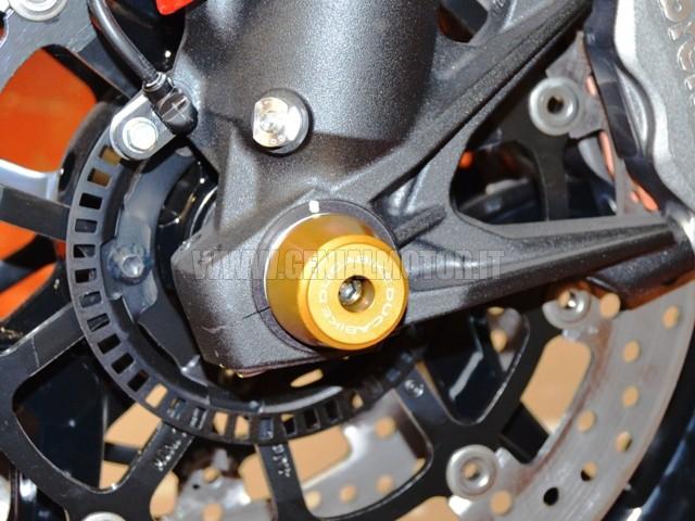 Ducabike Pfan02b Protezione Forcella Anteriore Oro