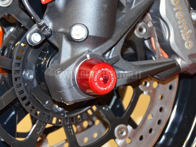 PFAN03A Ducabike Pfan03a Protezione Forcella Anteriore Rosso