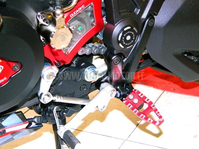 PPDV01A Ducabike Ppdv01a Pedali Regolabili Rosso
