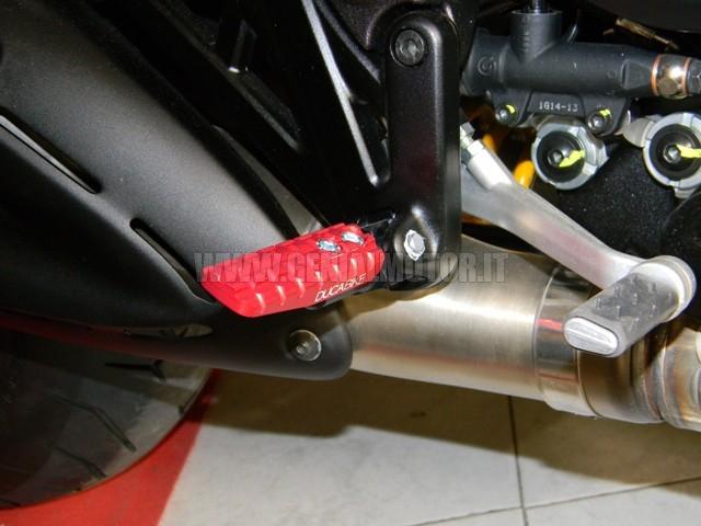 PPDV02A Ducabike Ppdv02a Pedali Regolabili Rosso