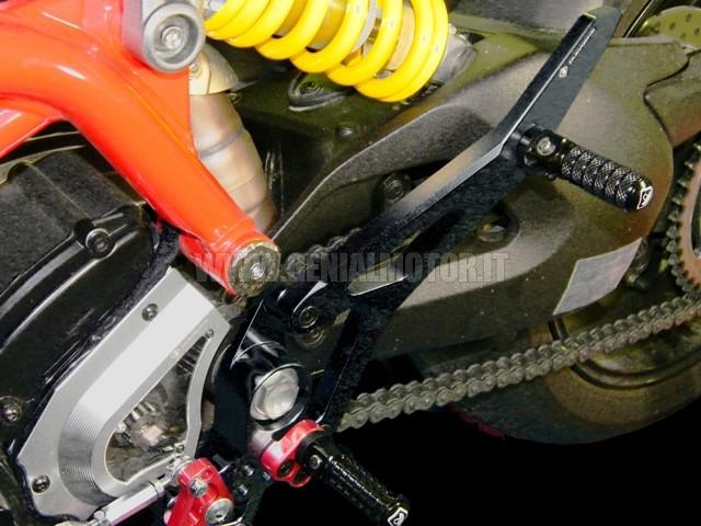 PPNHM01DD Ducabike Ppnhm01dd Kit Pedane Passeggero Nero - Nero