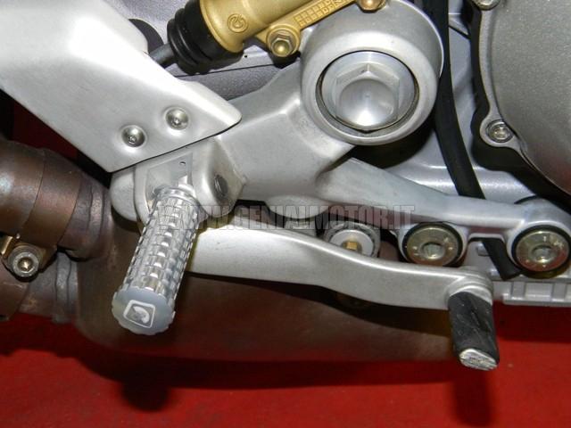 Ducabike Ppsf02e Pedali Pilota Silver