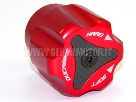 PRP01A Ducabike Prp01a Pomello Registro Precarico Posteriore Rosso