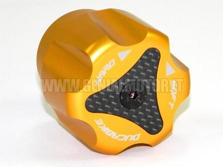 PRP01B Ducabike Prp01b Pomello Registro Precarico Posteriore Oro