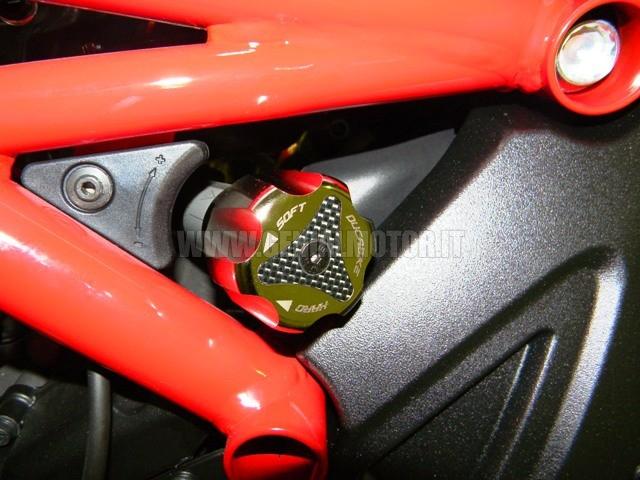 PRP01E Ducabike Prp01e Pomello Registro Precarico Posteriore Niploy