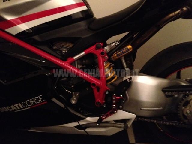 PRSP03DA Ducabike Prsp03da Pedane Regolabili Sp Nero - Rosso