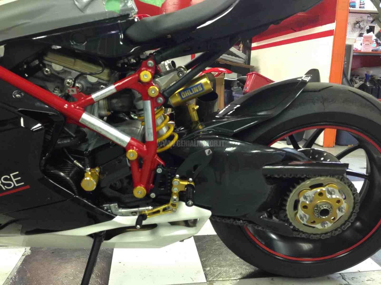 Ducabike Prsp03db Pedane Regolabili Sp Nero - Oro