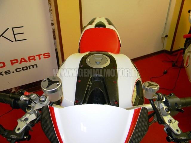 Ducabike Tls01e Tappi Serbatoio Liquidi Silver