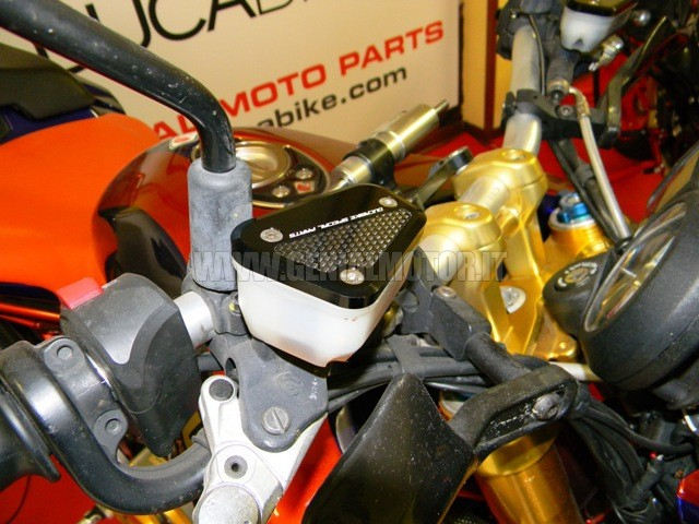 TLS03D Ducabike Tls03d Tappi Serbatoio Liquidi Nero