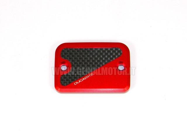 TLS08A Ducabike Tls08a Tappo Serbatoio Liquido Freno Rosso