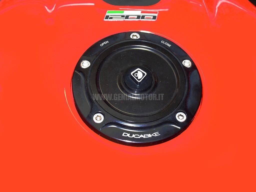 Ducabike Tsb06dd Tappo Serbatoio Benzina Nero - Nero