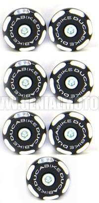 TT109802D Ducabike Tt109802d Tappi Telaio Nero