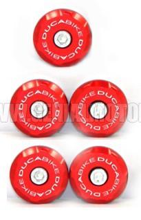 Ducabike Tt99801a Tappi Telaio 998 Rosso