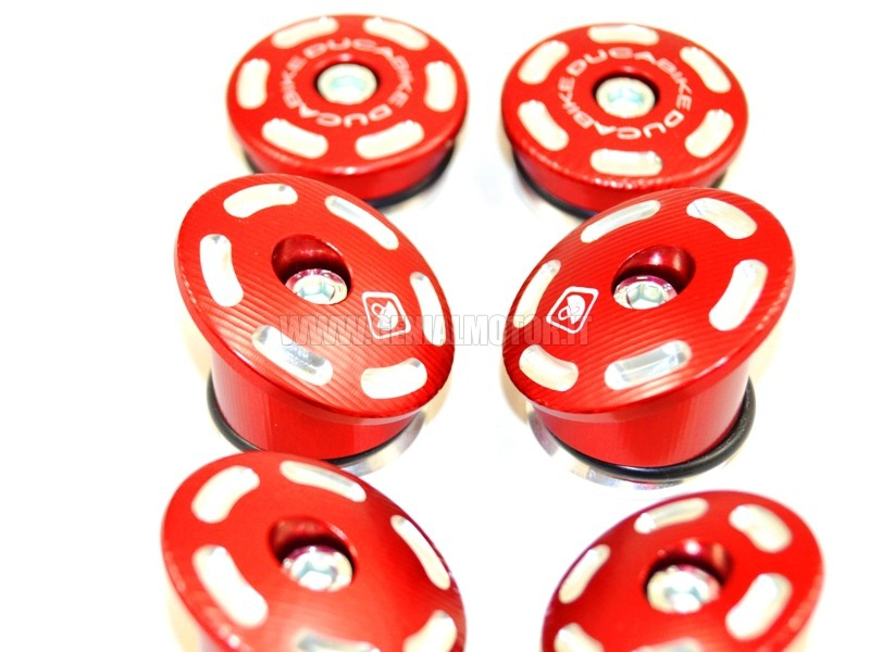 TTM1200A Ducabike Ttm1200a Tappi Telaio M1200 - 821 Rosso