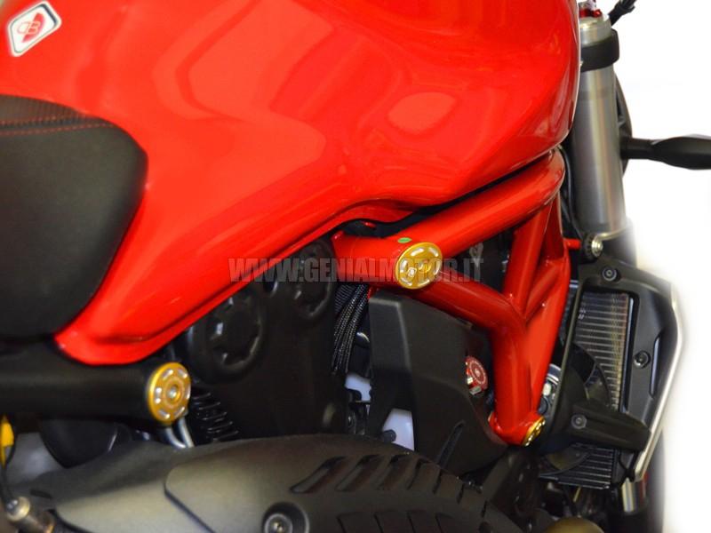 TTM1200B Ducabike Ttm1200b Tappi Telaio M1200 - 821 Oro