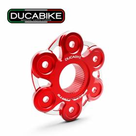 Sprocket Bicolor in Ergal Red PC6F06A Ducabike Ducati Streetfighter V4 2020 > 2021