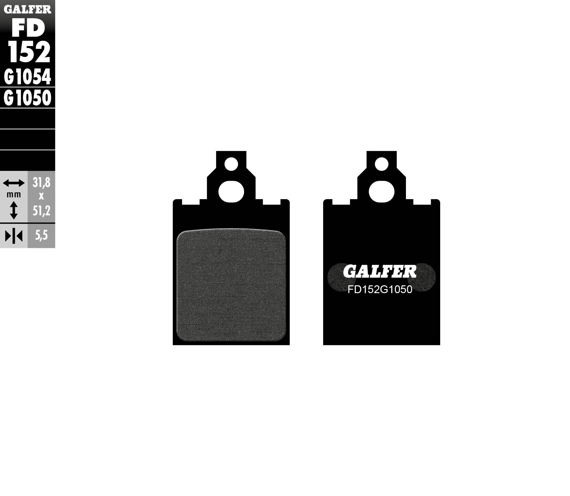 PASTILLAS-DE-FRENO-DELANTERO-GALFER-LML-STAR-125-MAT-SERIES-4T-2010-FD152