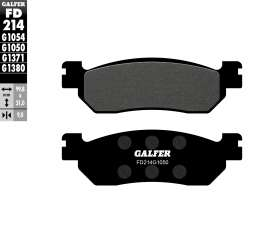 Galfer Front Brake Pads Sigma Colombia 150-6y  Fd214