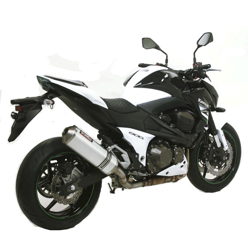 Impianto Scarico Completo No Cat Giannelli Allum Kawasaki Z800E 72Kw 2013 > 2016