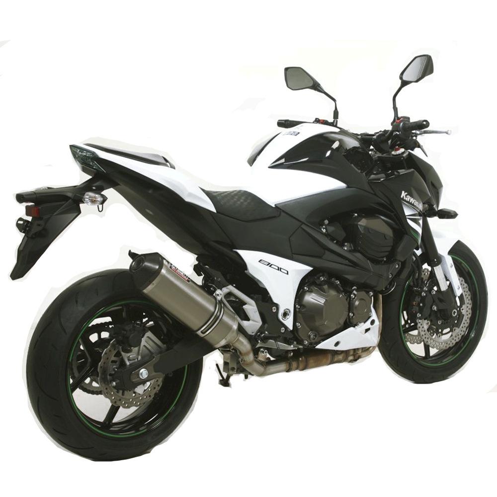 Impianto Scarico Completo No Cat Giannelli Titan Kawasaki Z800E 72Kw 2013 > 2016