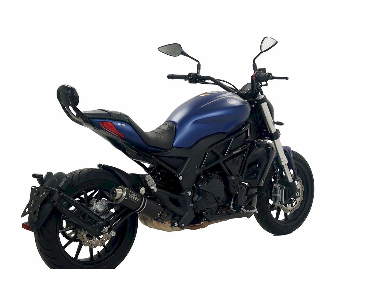 73623XP Exhaust Muffler Giannelli X-pro Steel Black Benelli 502 C 2019 > 2021