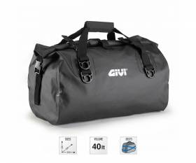 GIVI EA115GR waterproof saddle bag 40 lt, black